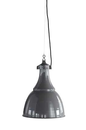 Image of   House Doctor Lampe, Dana, grå, dia.: 35 cm, h.: 47. Everyday 2016 loftslampe