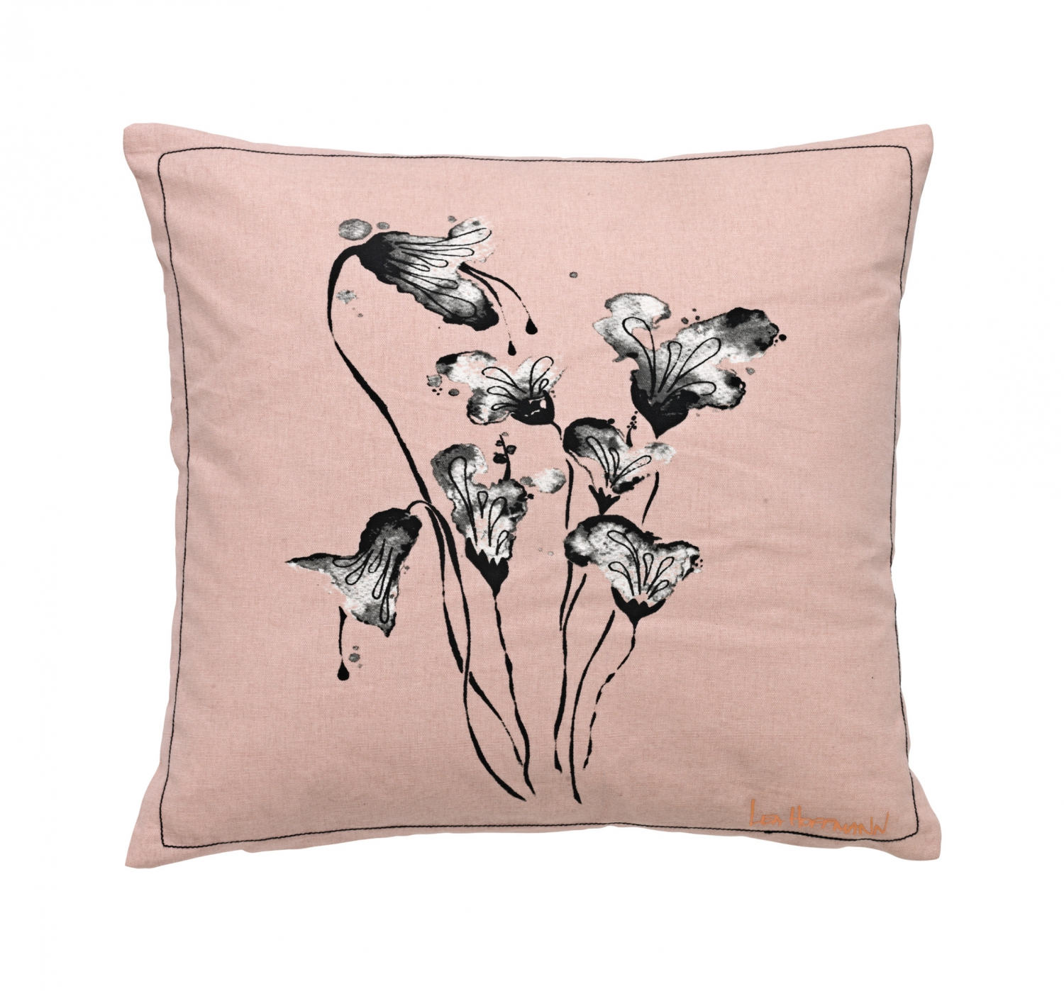 Cozy Living Pude 50x50 cm (Rosa bomuld)