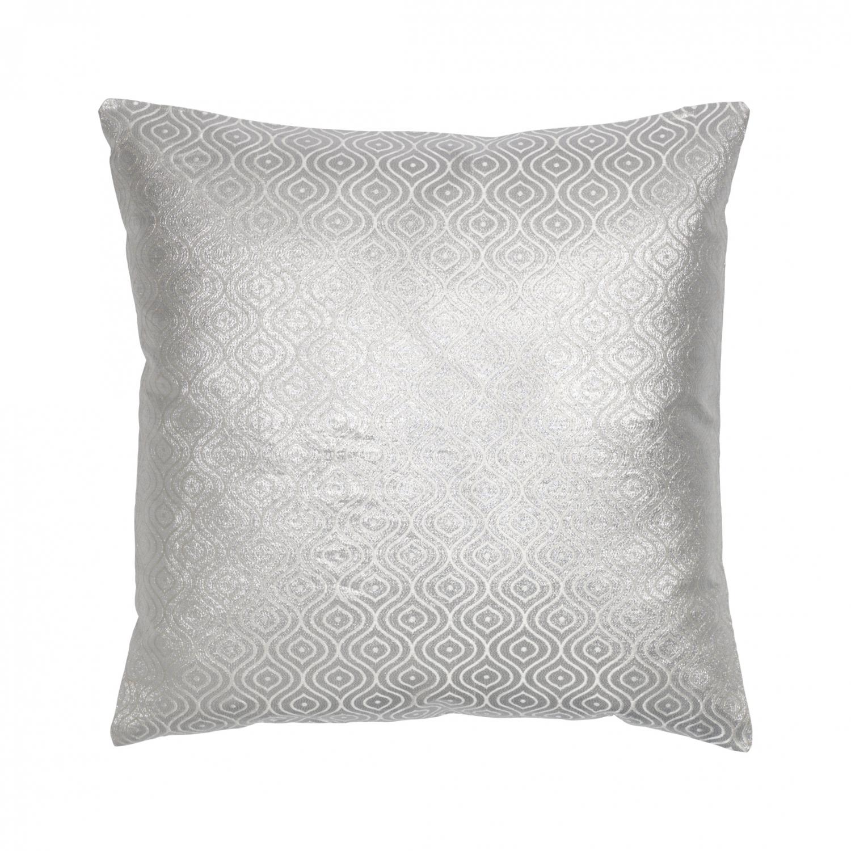 Cozy Living Pude 50x50 cm (Sølv canvas)