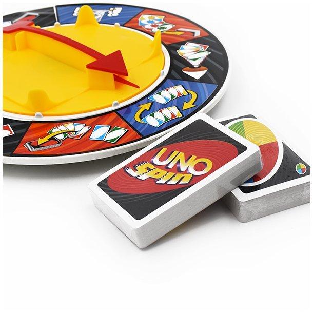 Uno spin spille sæt, sampakke á 2 spil