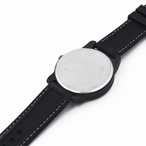 Image of   Armbåndsur, sort, herre, quartz, D.: 4,5 cm
