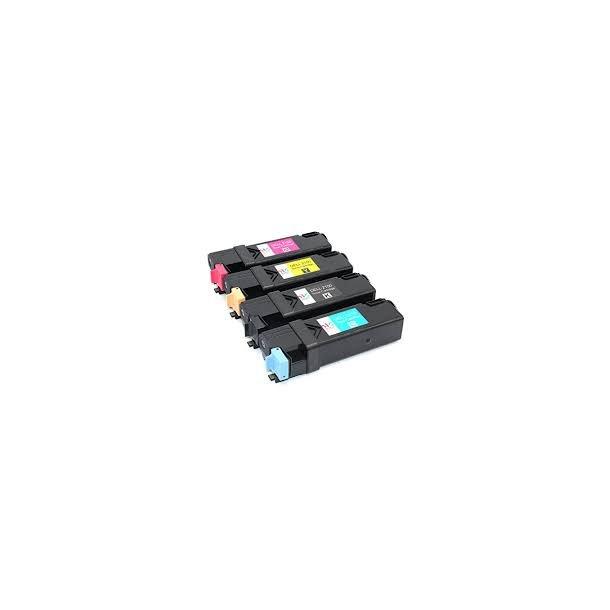 Dell 2150/2155 combo pack 4 stk lasertoner BK/C/M/Y 10500 sider