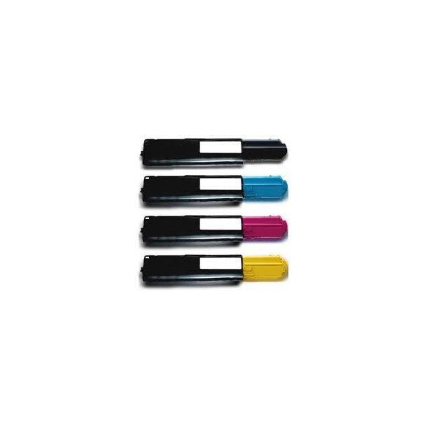Dell 3100 combo pack 4 stk lasertoner BK/C/M/Y 12000 sider