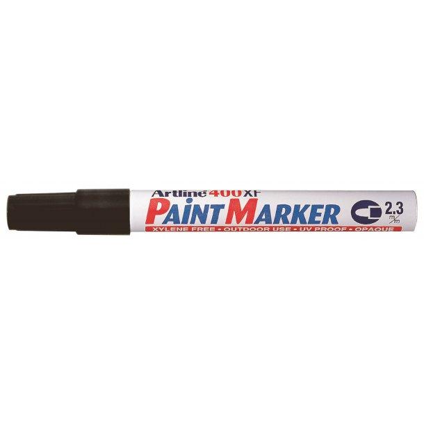 Artline Marker 400XF Paint svart, 12 st