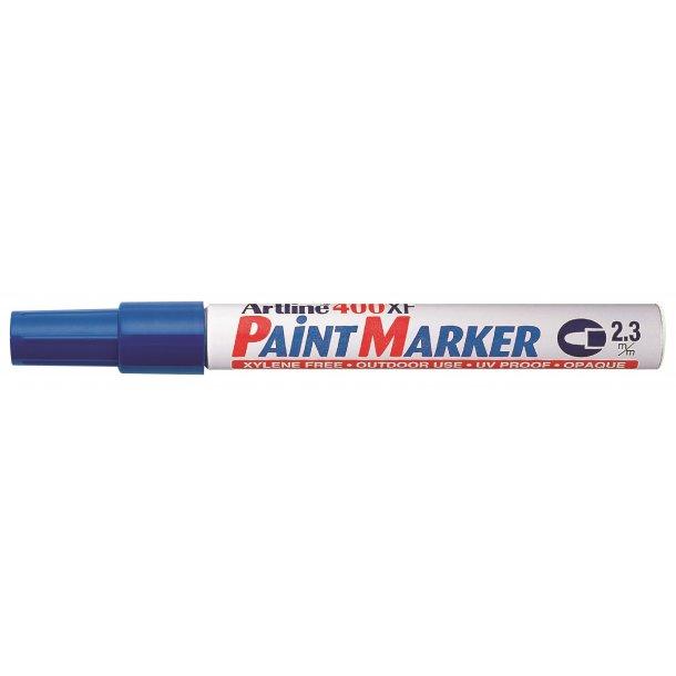 Artline Marker 400XF Paint blå, 12 st