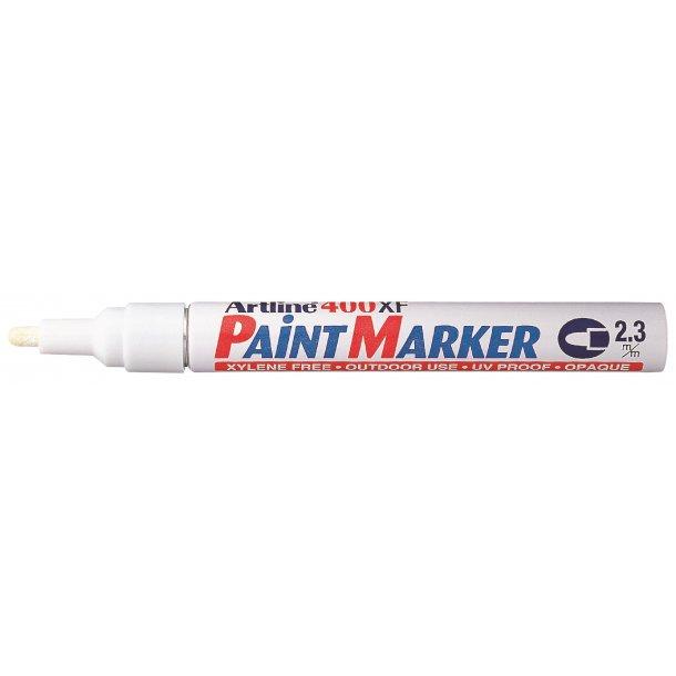 Artline Marker 400XF Paint vit, 12 st