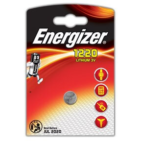 Image of   Energizer Lithium CR1220 batteri