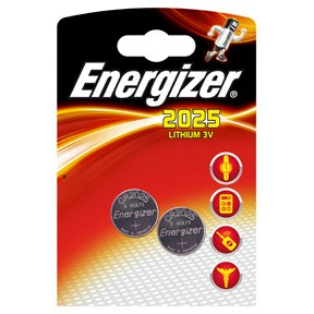 Image of   Energizer Lithium 3,0V CR2025 batteri