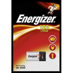 "Image of   Energizer Lithium ""Photo"" batteri CR123"