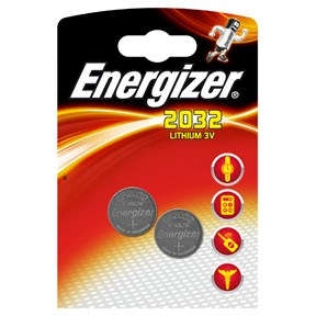Image of   Energizer Lithium CR2032 batteri 10 pakker