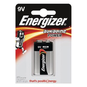 Image of   Energizer 9V batteri Power