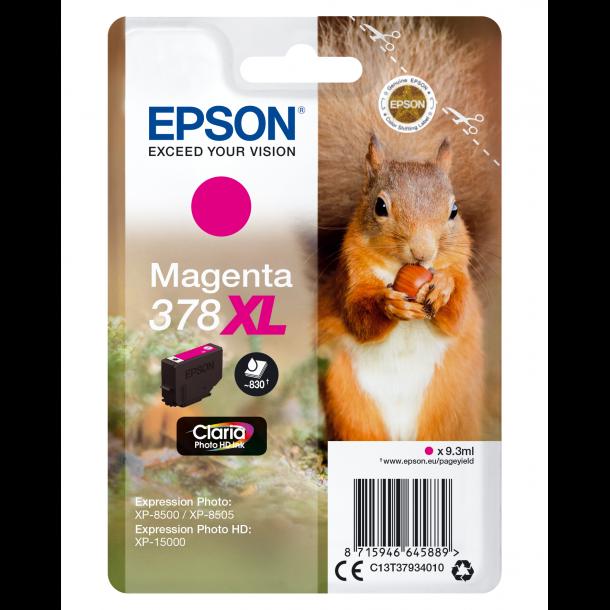 Epson T378 XL – C13T37934010 – Magenta 9,3 ml