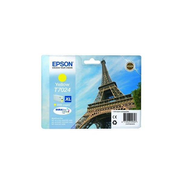 Epson T7024 XL – C13T70234010 – Gul 2000 sider