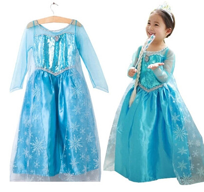 Image of   Kostumer til piger L Elsa