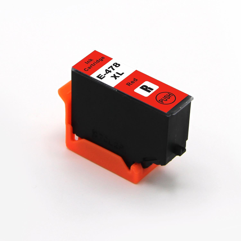 Image of   Epson 478XL rød blækpatron 11,2ml kompatibel C13T04F54010
