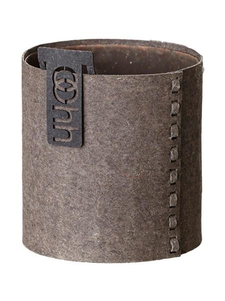 Image of   OOHH Cylinder Urtepotteskjuler Ø17 cm (Brun)