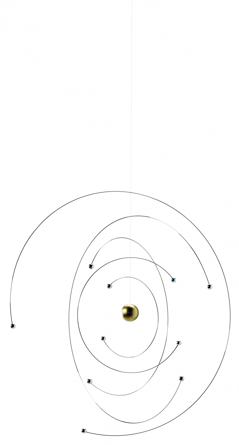 Image of   Flensted Mobile Niels Bohr atom model