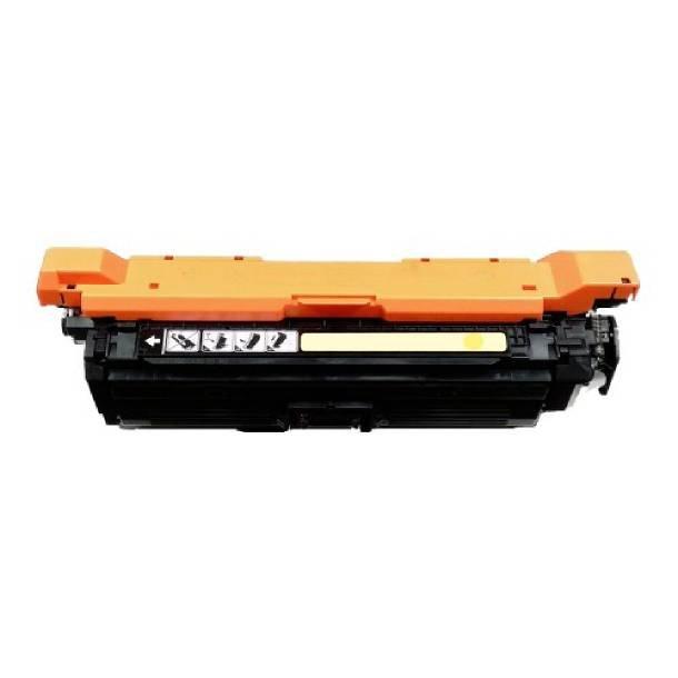 HP 654A Y lasertoner – CF332A Gul 15000 sider