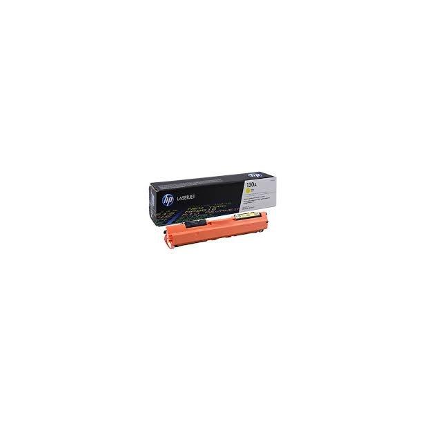 HP 130A Lasertoner – CF352A  – Gul 1000 sider