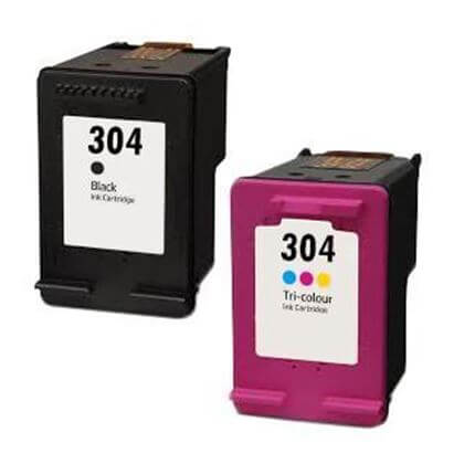 Image of   HP 304 XL Combo pack blækpatroner, kompatibel (36 ml)
