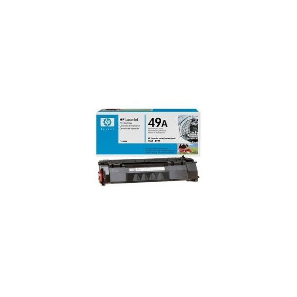 HP 49A Lasertoner – Q5949A  – Sort 2500 sider