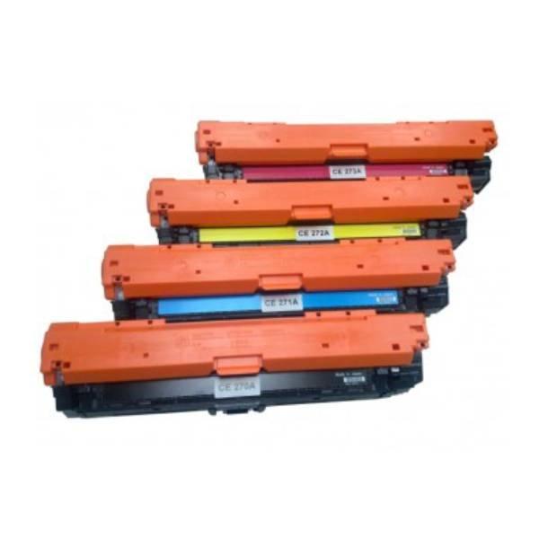 HP 650A combo pack 4 stk lasertoner BK/C/M/Y 58500 sider
