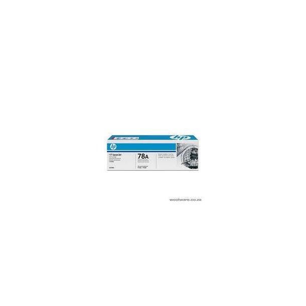 HP 78A Lasertoner – CE278A  – Sort 2100 sider