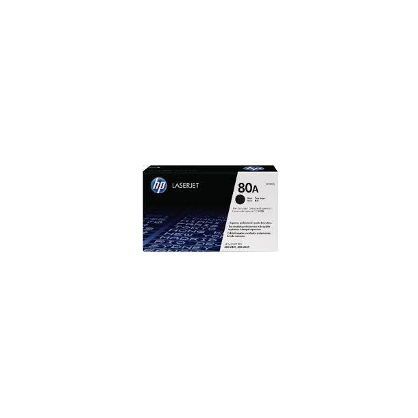 HP 80A Lasertoner – CF280A  – Sort 2700 sider