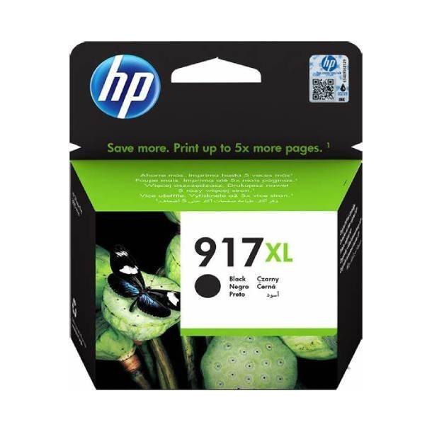 HP 917 XL BK blækpatron – 3YL85AE – Sort 39,2 ml