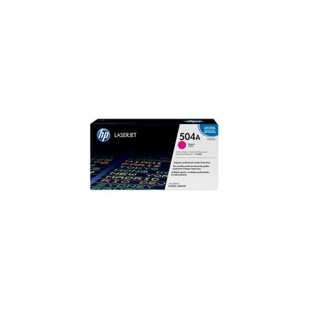 HP CE253A(HP504A) Lasertoner – CE253A  – Magenta 7000 sider