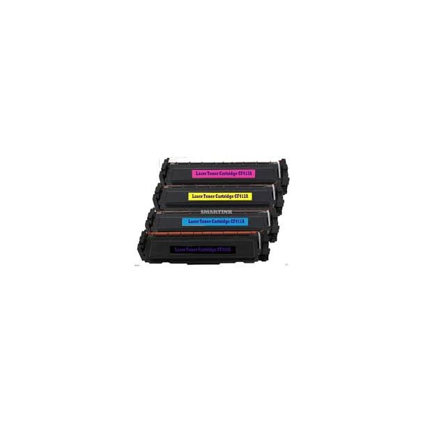 HP CF410A/CF411A/CF412A/CF413A combo pack 4 stk lasertoner BK/C/M/Y 9200 sider