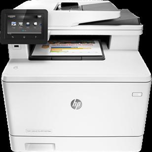 HP Color LaserJet Pro MFP M477fdw printer CF379A#B19