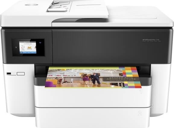 HP Officejet Pro 7740 A3 e-AiO printer G5J38A#A80