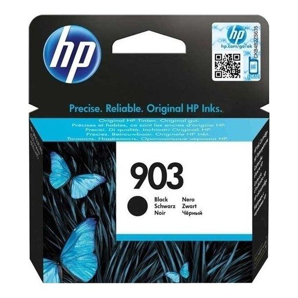 HP 903 ( 907) BK (300 sider) sort blækpatron