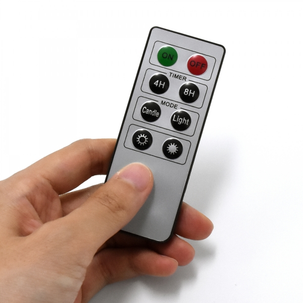 Image of   Fjernbetjening til LED stearinlys