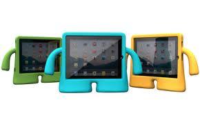 iPad cover i hård skum som iGuy - iPad 2/3/4 Grøn