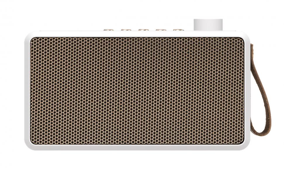 Image of   Kreafunk tRADIO, DAB+ radio, hvid