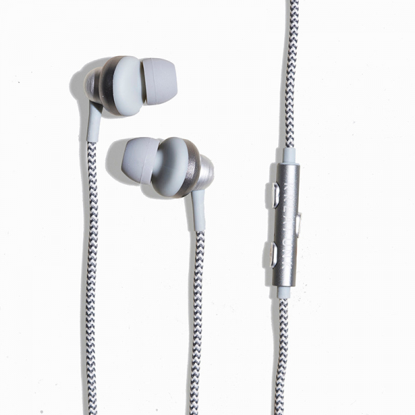 Image of   Kreafunk aGEM in-ear høretelefoner, grå/blå
