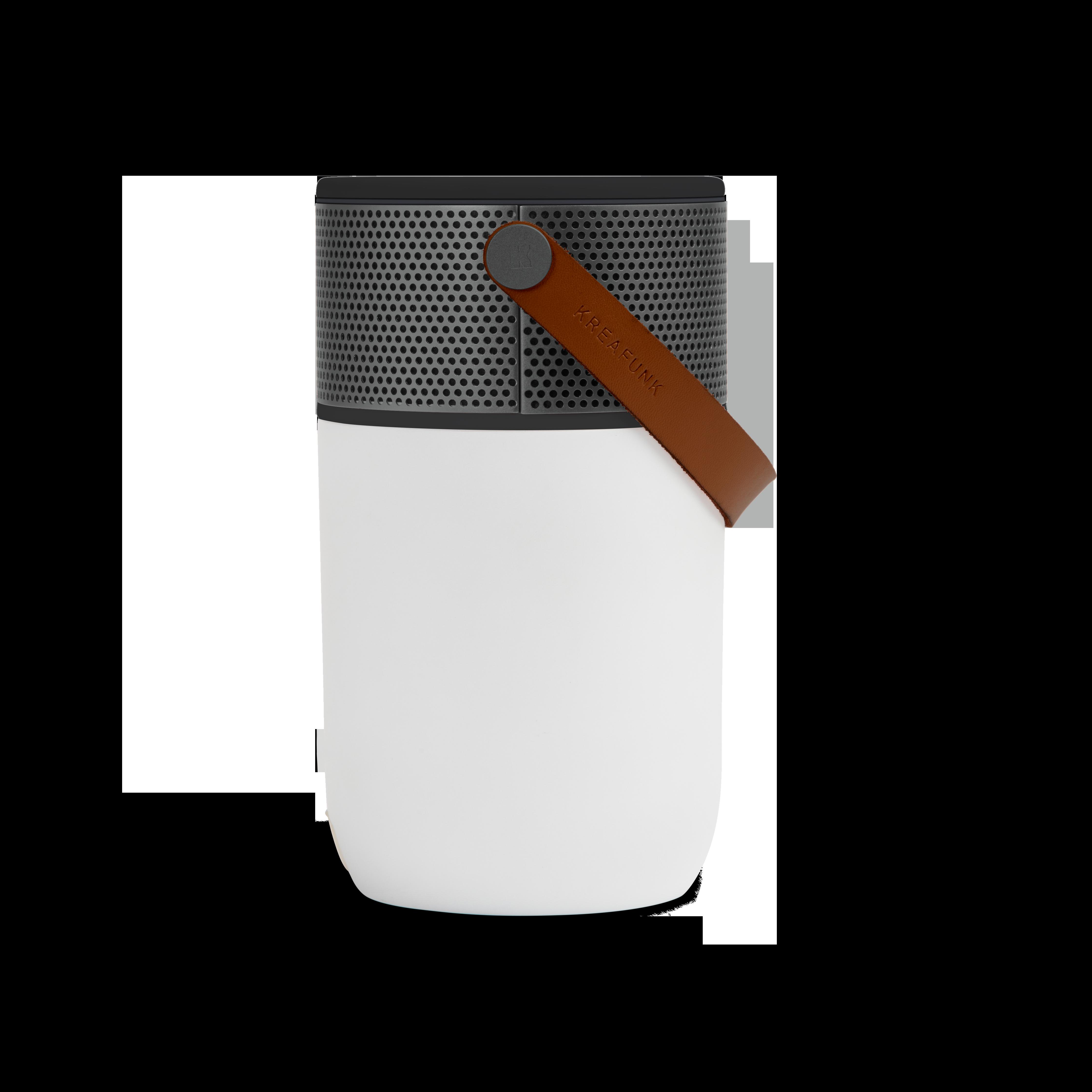 Kreafunk aGLOW Bluetooth högtalare, black edition