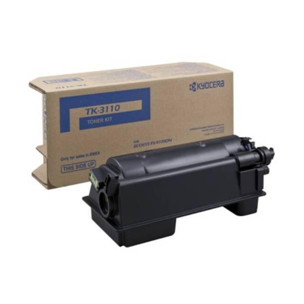 Kyocera TK-3110 BK lasertoner – 1T02MT0NLS  – Sort 15500 sider