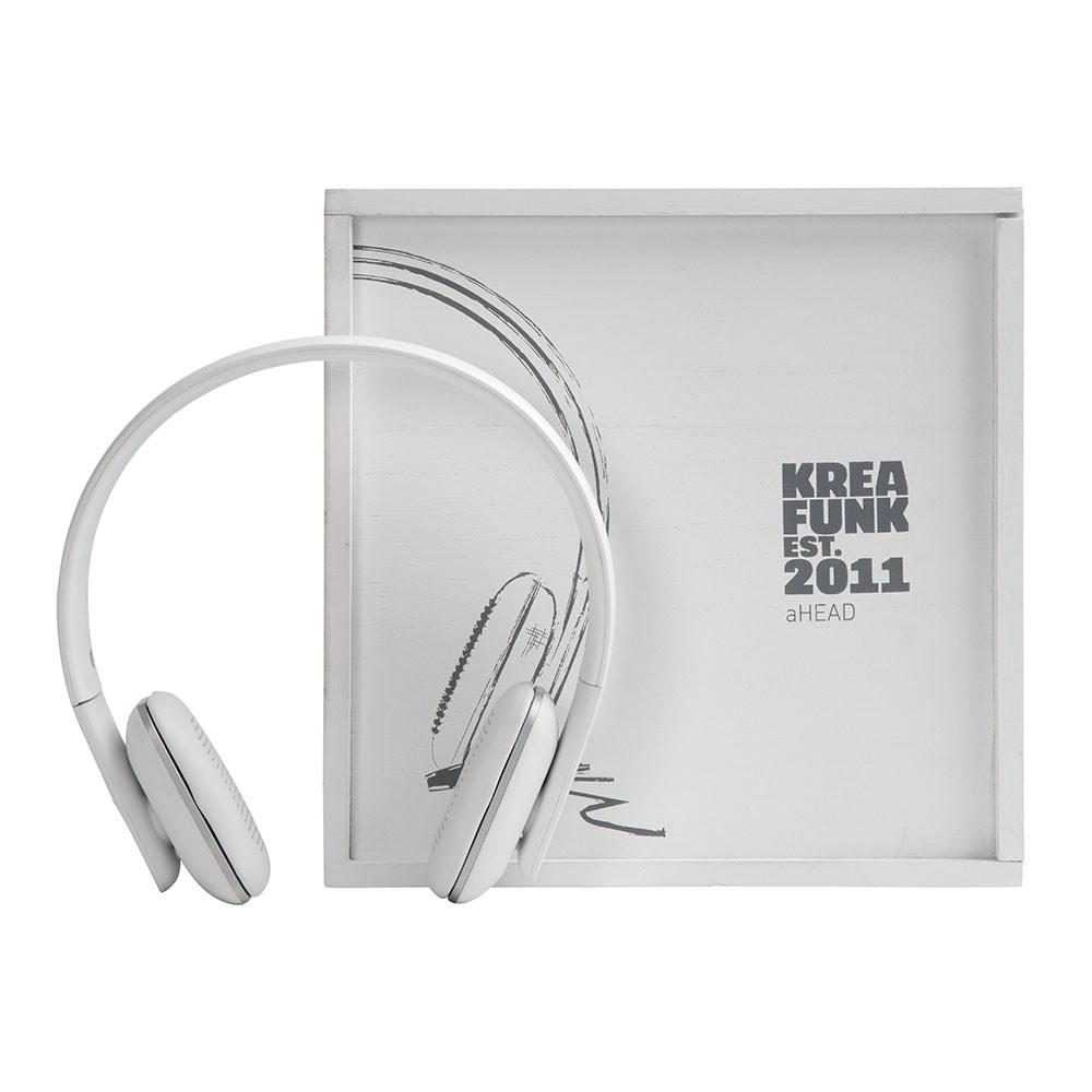 Ahead Kreafunk aHEAD, white edition, BT headset