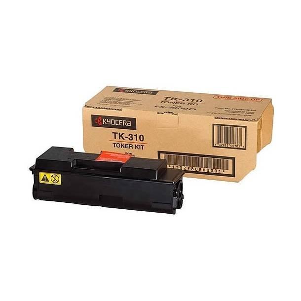Kyocera TK-310 BK lasertoner – 1T02F80EUC  – Sort 12000 sider