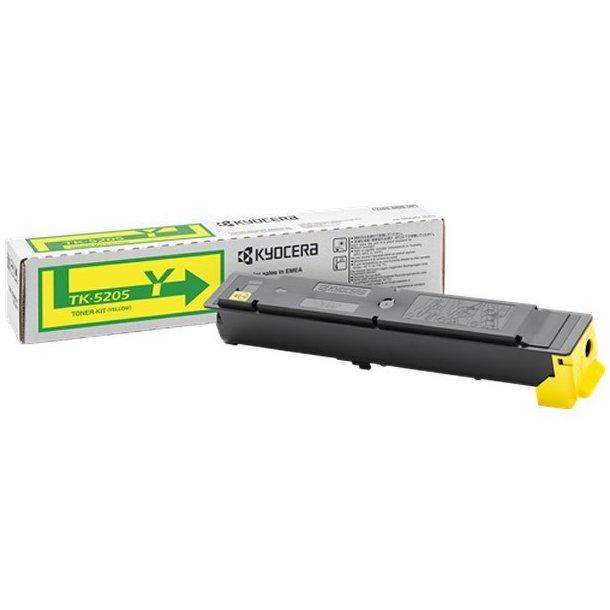 Kyocera TK-5205 Y lasertoner – 1T02R5ANL0  – Gul 12000 sider