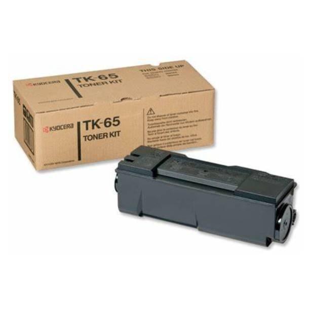 Kyocera TK-65 BK lasertoner – 370QD0KX  – Sort 20000 sider