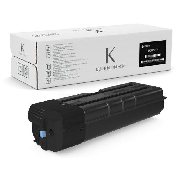 Kyocera TK-8725 BK lasertoner – 1T02NH0NL0  – Sort 70000 sider