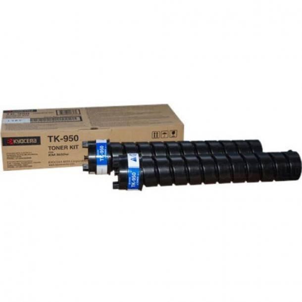 Kyocera TK-950 BK lasertoner – 1T05H60N20  – Sort 7800 sider