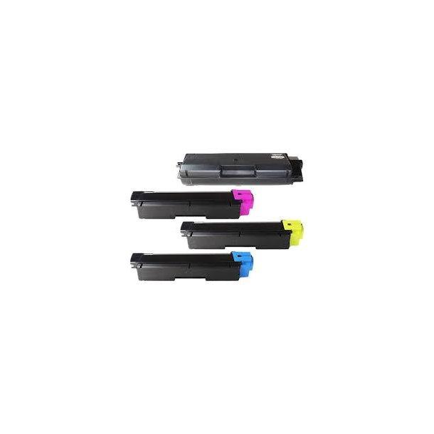 Kyocera TK590 combo pack 4 stk lasertoner BK/C/M/Y 22000 sider