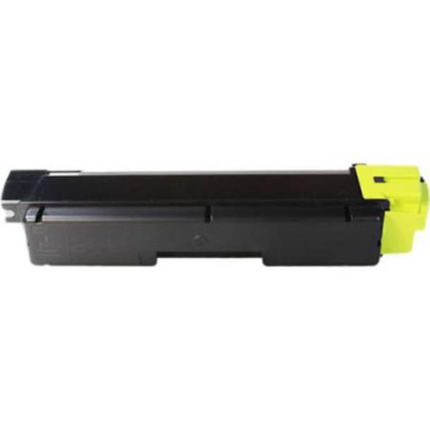 Kyocera TK590 Y Lasertoner, Gul, Kompatibel (5000 sider)