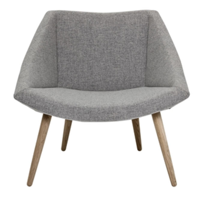 Image of   Bloomingville The elegant chair (Light grey)