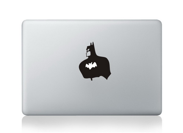MacBook sticker Batman Torso